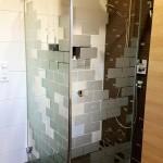 Duschkabine nachher