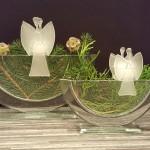 Vase NEBRO mit Stecker Kerzenlicht JULIE