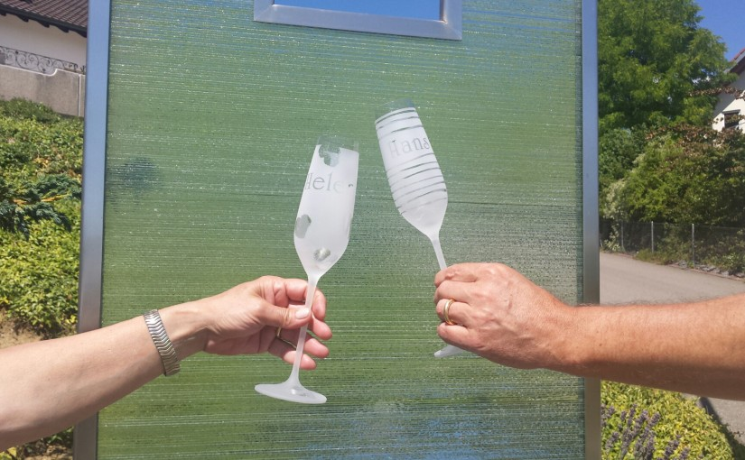 Gläser mit Sti(e)l